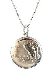 Max & Chloe engraved locket