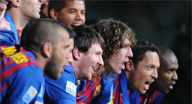 Japan coronation for Barça's history boys