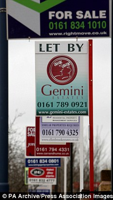 December slowdown: The festive period sees rental prices drop as landlords look to fill empty properties