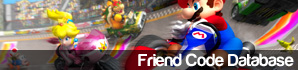 Friend Code Database