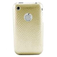 iPhone 3G/3GS Creative Graphic Case - Gold Python Veins