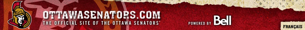 The Official Website of the Ottawa Senators Powered by Bell