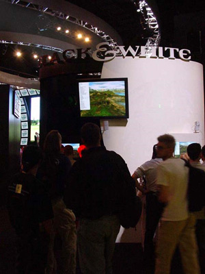 Black & White, the first time at E3