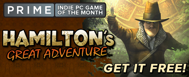 IGN Prime: Free Copy of Hamilton's Great Adventure