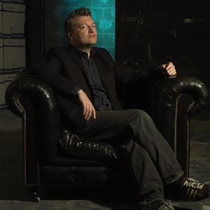You Have Been Watching. Image of Charlie Brooker. Image credit: Zeppotron.