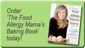 Pre-order The Food Allergy Mama\'s Baking Book today!