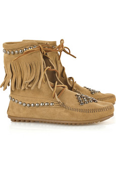 Bess�Trampers studded suede boots