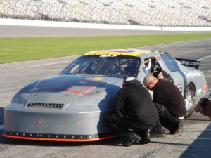 Ricky Byers Racing during ARCA testing at Daytona International Speedway.