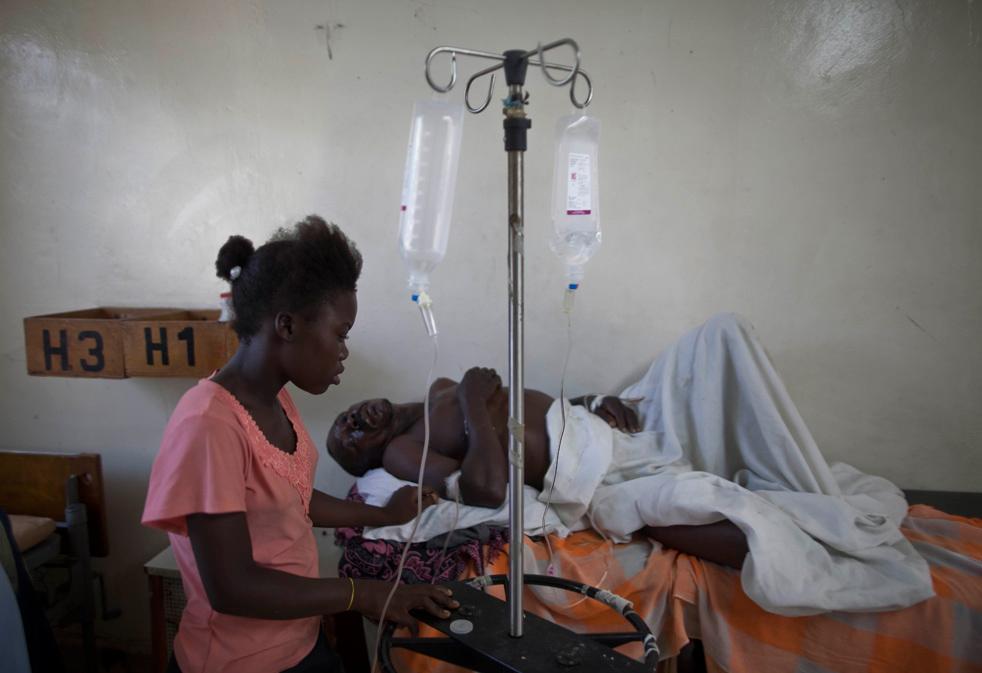 Эпидемия холеры в Гаити. Фото 2