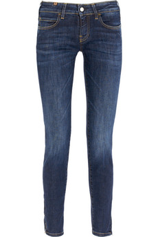 Notify�Bamboo mid-rise cropped skinny jeans
