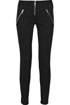 Alexander McQueenMid-rise zipped skinny jeans