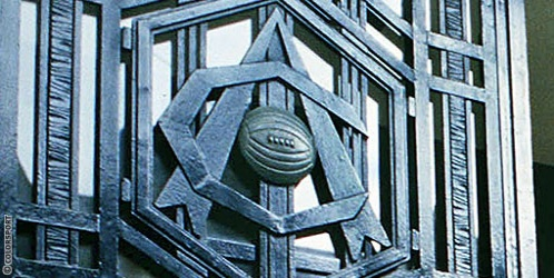 Art Deco Crest - Highbury doors