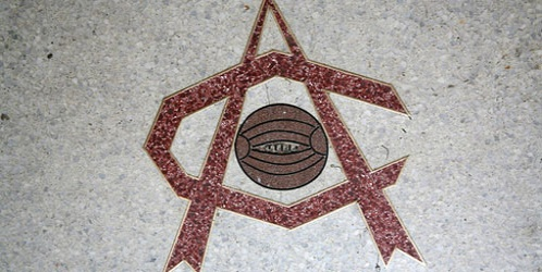 Art Deco Crest - Highbury floor