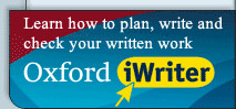 Improve your writing skills with the Oxford iWriter