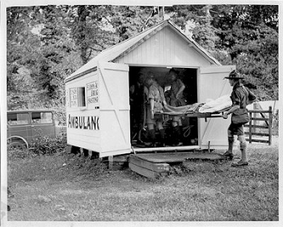 Ambulance Hut