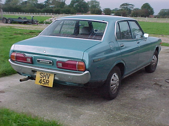 Second Series Datsun 140J sedan rear quarter