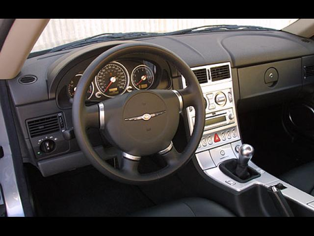 Chrysler Crossfire 2004 Dashboard - Driver Side
