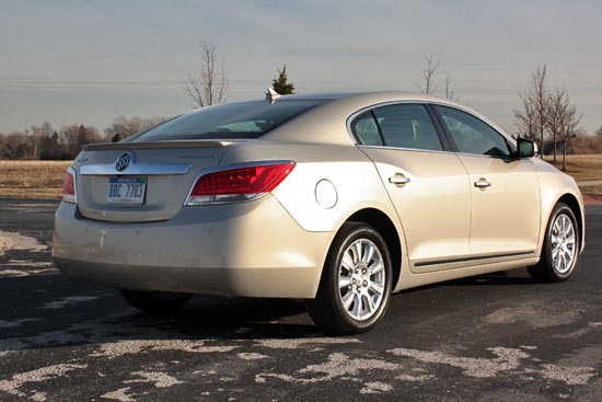 Mainstreaming The Hybrid: 2012 Buick LaCrosse eAssist
