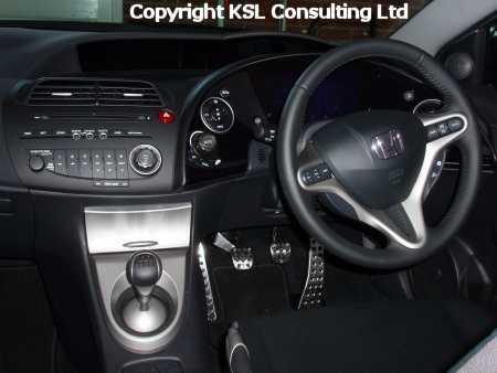 Civic Diesel Interior - SpectraCar