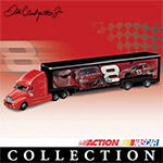 1:64 Dale Earnhardt, Jr. Motorsport Editions? Diecast Hauler Collection - Dale Earnhardt, Jr. Collectible 1:64 Scale Diecast Haulers Deliver the Win! Exclusive Authorized NASCAR? Collectibles!