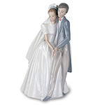 Nao® Lladro Unforgettable Dance Figurine - Collectible Bride and Groom Figurine from Nao by Lladro® Celebrates the Couples First Dance! A Unique Wedding Gift