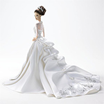 Reem Acra Bride Barbie Doll - Collectible Barbie® Doll in Reem Acra® Bridal Dress Has the Look of Glamour and Beauty! A Barbie Bride Doll Gift!