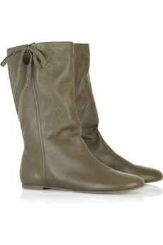 See by Chloé Leather slouchy boots