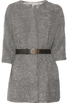 TibiMohair and wool-blend cardi-coat