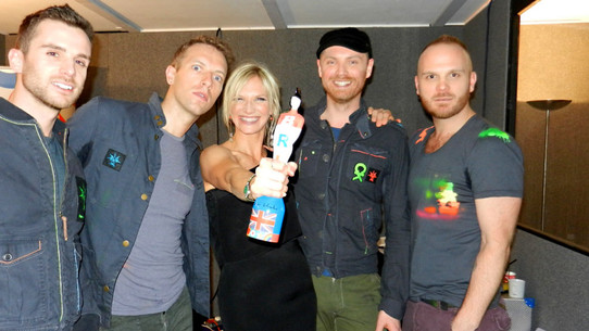 Coldplay with Jo Whiley