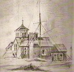 The Seabank Hotel in 1860