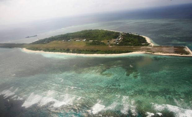 An aerial view of Pagasa (Hope) Island, which belongs to the disputed Spratly group of islands, in the South China Sea located off the coast of western Philippines. A decades-old territorial squabble over the South China Sea is entering a new and more contentious chapter, as claimant nations search deeper into disputed waters for energy supplies while building up their navies and military alliances with other nations, particularly with the United States.