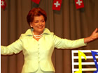 Lys Assia at the Swiss OGAE Meeting of 2006 - © OGAE Switzerland
