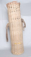 Image of WWI WICKER SHELL CARRIER (BASKET)