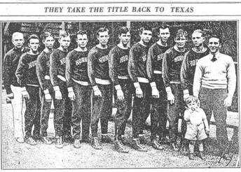 Athens (TX) 1930 national champions
