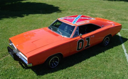 The General Lee--Not Wanted In NASCAR