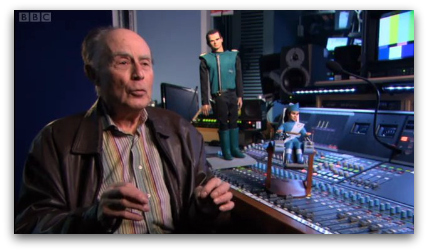 David Graham, the voice of Parker in Thunderbirds, on Tuesday night's The One Show
