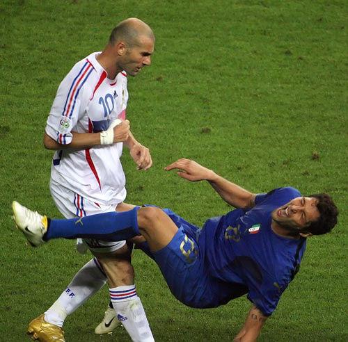 Zidane-Materazzi, Germania 2006