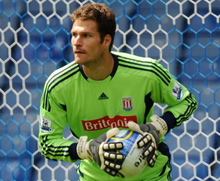 Asmir Begovic. ACTION IMAGES