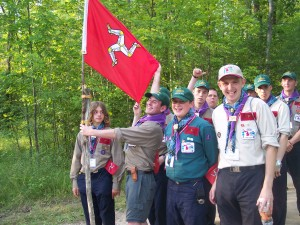 Michigan - International Scouts - Isle of Man - festival - Michigan International Camporee - Boy Scouts of America - northwoods - Jamboree - youth - Scouts - international