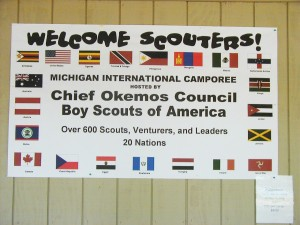 Michigan - festival - camping - United States - Michigan International Camporee - Boy Scouts of America - northwoods - Boy Scouts - Jamboree - youth - Scouts - Jamaica - Camporee - international