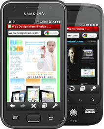 W3C MobileOK Mobile Web Designer, Miami Mobile Apps Development