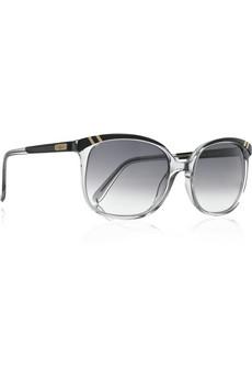 ChloéBelladone square-frame acetate sunglasses