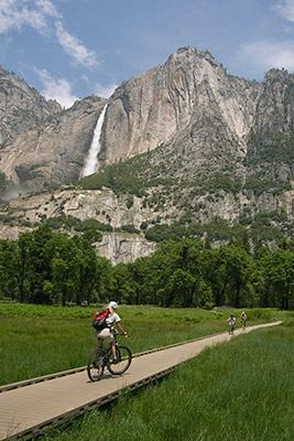 Cycling in Yosemite