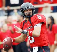 Texas Tech's Graham Harrell passed 4,747 yards and 41 touchdowns in 2008.