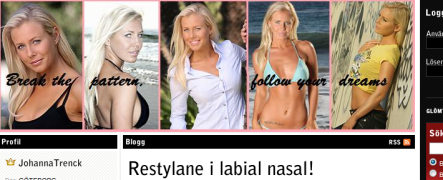 Swedish beauty bloggers offered implant 'bribes'
