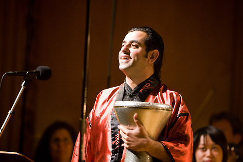 "Percussion superstar Rony Barrak will perform at Symphonic Fantasies! In the course of his career he has been involved with such greats as Jaz Coleman, Youth, Vanessa Mae, Bond and Sarah Brightman on the world tour ""HAREM"" in 2004. Photo: (C) WDR www.ronybarrak.com"