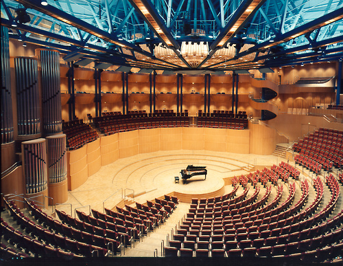 More than 120 professional musicians will be on stage at the beautiful 2,000+ venue Philharmonic Hall in Cologne, Germany. Photo: (C) WDR www.koelnerphilharmonie.de
