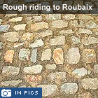 Paris-Roubaix action in pictures
