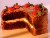 black forest cake: