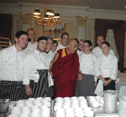chefs and the Lama:
